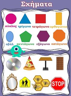 geometry - ΠΡΩΤΟ ΚΟΥΔΟΥΝΙ Class Decoration, Maths, Geometry, Projects To Try, Diagram, Chart, Shapes, Autumn, Education