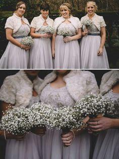 Gypsophila wedding bouquets