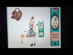 New ever after high character and doll bunny blanc