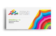 Festival de Cultura del Caribe by Face., via Behance