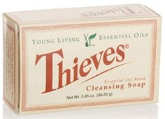 Bar Soap - Thieves Bar Soap | Young Living Essential Oils