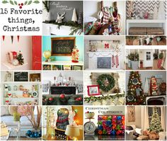 Fifteen Favorite Finds, Christmas Style   Southern Belle Soul, Mountain Bride Heart ... Christmas Decorating, Interior Designing, Christmas Mantels and DIY Projects