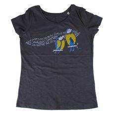 "T-Shirt ""birds"" (slub) organic, fair trade Fair Trade, Organic Cotton, Birds, Hoodies, Tees, Mens Tops, T Shirt, Fashion, T Shirts"