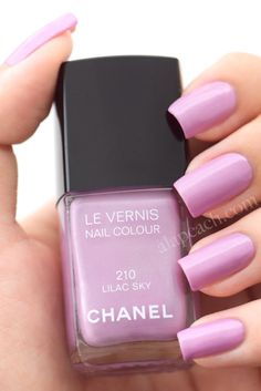Chanel 210 : Lilac sky.  This would be perfect when I tan :)