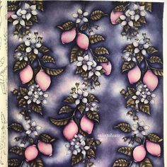 Free Coloring, Adult Coloring, Colouring, Fisher, Caran D'ache, Johanna Basford Coloring Book, Pink Lemon, Mandala Drawing, Coloring Book Pages