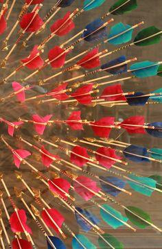 Louis Vuitton arrow window display