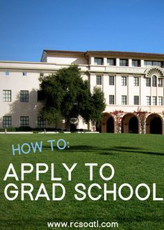 How to apply to grad school | useful tips to know before starting the application process! #college #postgrad #education