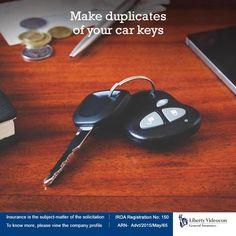 Always should make duplicate keys for your car locks