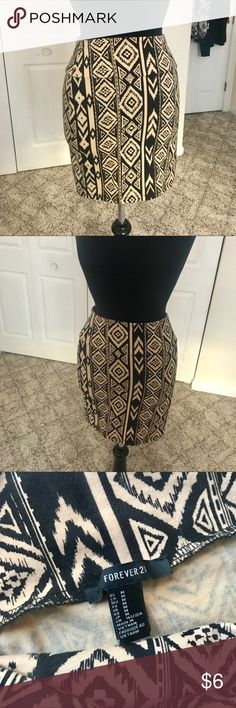 Forever 21 Tribal Skirt -Worn once -In good condition Forever 21 Skirts Mini