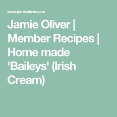 Explore this huge selection of delicious recipes that includes. easy desserts, delicious vegan and vegetarian dinner ideas, gorgeous pastas, easy bakes, and gluten-free recipes. Baileys Irish Cream, Vegetarian Dinners, Recipe Details, Jamie Oliver, Easy Desserts, Gluten Free Recipes, Allrecipes, Cooking Recipes, Yummy Food