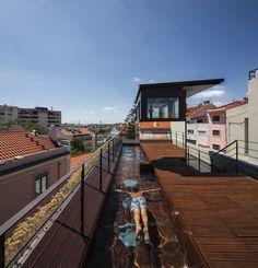 vertical garden living house, portugal  via: inthralld