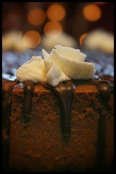 My wife's Chocolate Truffle cheesecake. Edible heaven.