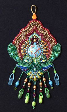 Bead Embroidery Kit: Birds of Paradise