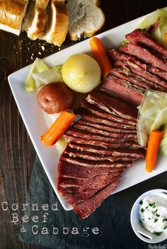 St. Patrick's Day must: corned beef and cabbage.