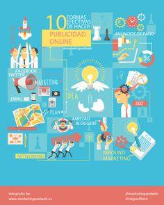 10 formas efectivas de hacer Publicidad Online #infografia
