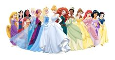 PNG Download: Pacote com 12 das Princesas Disney em PNG (com fundo transparente) em Alta Definição