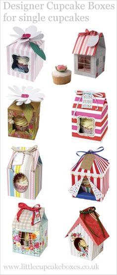 single cupcake boxes  http://www.littlecupcakeboxes.co.uk/cupcakeboxes/single-cupcake-boxes.html  #cupcake-boxes