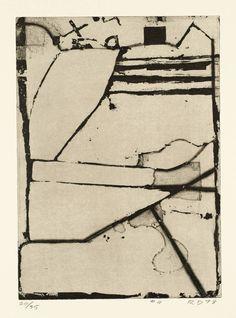 Richard Diebenkorn '#4', 1978 © The Estate of Richard Diebenkorn