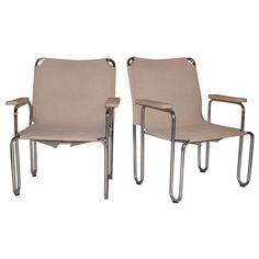 A pair of Bauhaus chairs