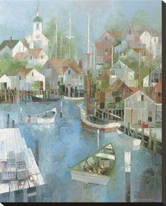 Cape Harbor by Albert Swayhoover