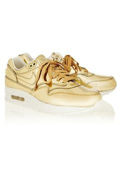 san francisco 99100 f5d01 Nike Air Max 1 Sp Sneakers in Gold as seen on Beyonce Knowles
