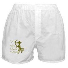 SAGITTARIUS Boxer Shorts> SAGITTARIUS MEN'S T-SHIRTS & CLOTHING> Wanda's T-Shirts and Stuff $14.99