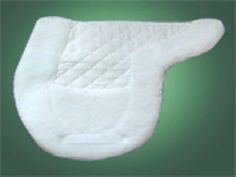 Wilker's Style 27CP - The Companion Pad, this fleece edged pad can be used along with Wilker's therapeutic wither relief pad (Style 25WP) for showing.