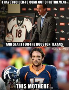 Poor Brock, Hahahahaha, not Funny Nfl, Funny Sports Memes, Sports Humor, Stupid Funny, Funny Stuff, Funny Things, Hilarious, College Football Memes, Football Jokes
