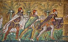 "The Three Kings - ""The Magnificent Ravenna Mosaics of S. Apollinare Nuovo"" by @1step2theleft"