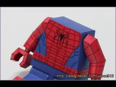 Lego Spiderman Arm (레고 스파이더맨 종이모형 팔 만들기) - YouTube