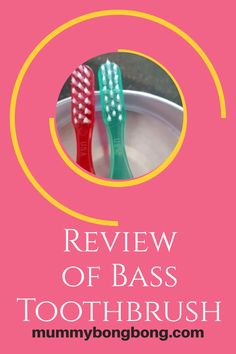 Review of Bass Toothbrush : It has fewer bristles and help to remove bacteria from the teeth and gums. Oral Health, Dental Health, Health Tips, 10 Year Old, Bass, Teeth, How To Remove, Mood, Tooth
