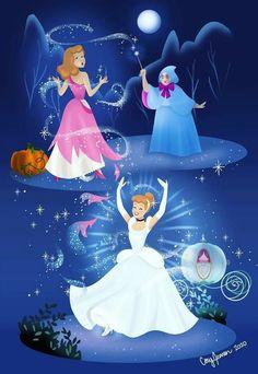 Disney Canvas Art, Disney Love, Gravity Falls, Wonders Of The World, Pixar, Illustrators, Cinderella, Animation, Disney Princess