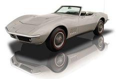 1968 Bloomington Gold Chevrolet Corvette Roadster