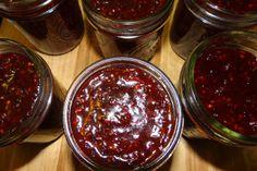 Wild Blackberry Bourbon Jam Reduced Sugar #Recipe #CanItForward