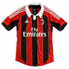 AC Milan 2012 - 2013 Home Jersey