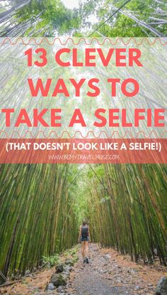 13 Clever Ways to Take a Selfie (That Doesn't Look Like a Selfie) No photographer? No problem! Here are 13 ways to take a selfie, that does not look like a selfie! Photography Tips, Travel Photography, Photography Degree, Advanced Photography, London Photography, Photography Awards, Photography Equipment, Photography Contract, Photography Filters