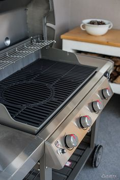 GENESIS II_4648 Weber Genesis, Bbq, Stove, Kitchen Appliances, Crickets, Barbecue, Diy Kitchen Appliances, Home Appliances, Barrel Smoker
