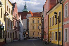 Ćeské Budějovice Česká ulice