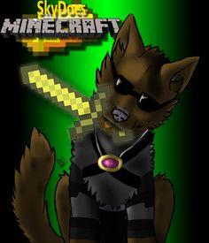 skydoesminecraft t-shirt as a dog | deviantART: More Like SkyDoesMinecraft T-Shirt by ~The-Hidden-Rock