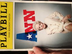 "D - Holland Taylor - ""Ann."" At Lincoln Center."