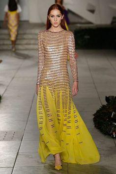Carolina Herrera Spring/Summer 2018 Ready To Wear | British Vogue