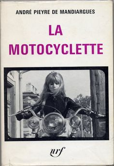 Marianne Faithfull in The Girl on a Motorcycle, a film adaptation of The Motorcycle by Mandiargues