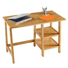 Brenton Studio Student Desk 30 14 H x 43 W x 22 D Oak by Office Depot & OfficeMax