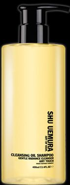 She Uemura Cleansing Oil Shampoo (pricey but would probably last me 3 years!)