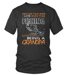 FISHING BUDDY T SHIRT - FISHING GRANDPA