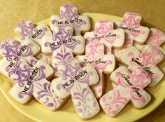 Airbrushed Easter Cookies