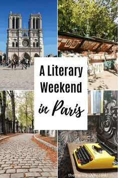 A literary weekend break in Paris. Tips on visiting Paris' literary haunts and hangouts from cafes and bookshops to hotels and cemeteries Paris France Travel, Paris Travel Guide, Paris Tips, Travel Tips, Travel Ideas, Travel Destinations, Paris Restaurants, Paris Hotels, Aquitaine