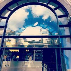 Apple Store in London...