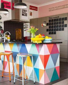 Inspiração do dia!  #geometric #topdesign #interiordesign #homedesign #home #design #arquitetura #architecture #decor #project #colorido #perfect  #estampa #quarto #arquiteto #decoration #bello #Blue #rusticidade #contemporâneo #contemporany #cool #buenasnoches #megusta #colors #artesanato #rústico #rusticidade #rustic #arte #art by laarquitetura http://discoverdmci.com