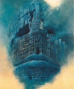 http://coilhouse.net/2007/12/the-beautiful-nightmares-of-zdzislaw-beksinski/